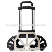 six wheel stair climbing Aluminum hand trolley
