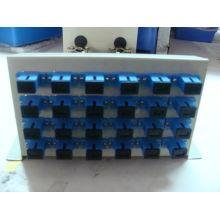 Caixa de terminação de fibra óptica montada na parede 24