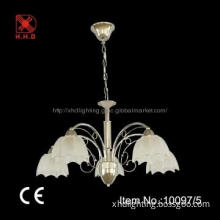 Hot Modern Chandelier with Flower Shaped Lampshade