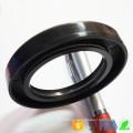 Material de goma Anillo de sellado de aceite de silicona Sello de aceite genuino de alta calidad para caja de engranajes Junta hidráulica estándar Rodamientos de aceite