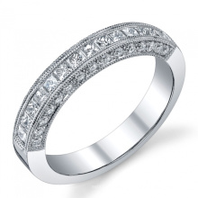 Joyería de la joyería fina de la boda de la venda del anillo de la plata esterlina