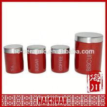 Tarro de cerámica de almacenamiento de pastas