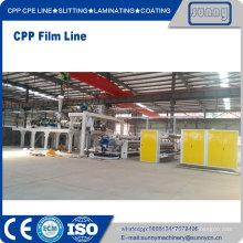 Línea de película CPP de maquinaria soleado
