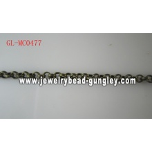 Fashion jewelry chain Antique Brass