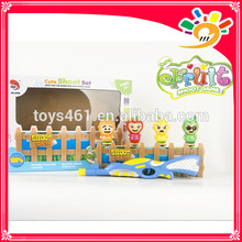 B/O shooting gun cartoon baby fruit attack shooting gun games toys shoot game