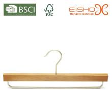 Естественная деревянная вешалка панцыря с адвокатским сословием металла (MK27)