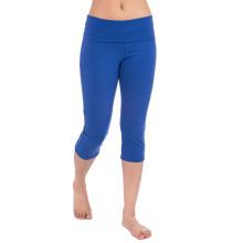 Medias de la aptitud del yoga Mujeres Capri desgaste de la aptitud de la ropa de Crossfit (YG-56)