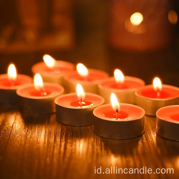 Favour Wax Warna Lilin 10g Tea Light Candle