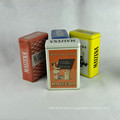 Metal Box Company, pequena caixa de metal, caixas de presente de metal