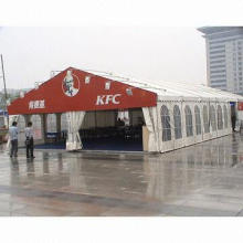 Tent for Party, Ceremony and Meeting, Made of 600gsm Waterproof, Fire-proof and UV-resistant PVC