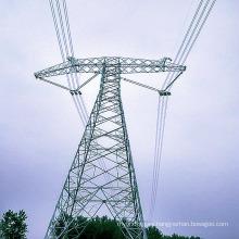 800kv Transmisión de potencia de ángulo lineal Torre de acero