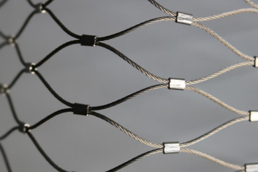 stainless steel cable mesh TIGER ENCLOSURE MESH