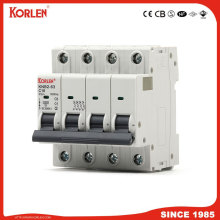 Patented C65 Miniature Circuit Breaker 10ka MCB with Ce, CB, Semko, NF, Sirim,