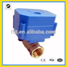 """Motor de latón de 2 vías 6Nm 1/2 """"DN25 Válvula de 24VDC para válvula ir-warm.HVAC y servicio de rociadores contra incendios"""