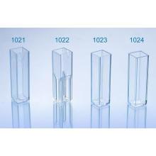 CE y FDA aprobados desechables de plástico Cuvette