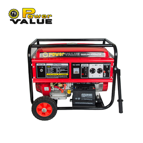 15hp Portable Electric Gasoline Generator 6kw