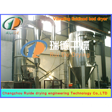 Pressure spray granulation dryer