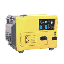 Silent Portable Diesel Generator with 5kVA Power Output and 50/60Hz Frequency Range