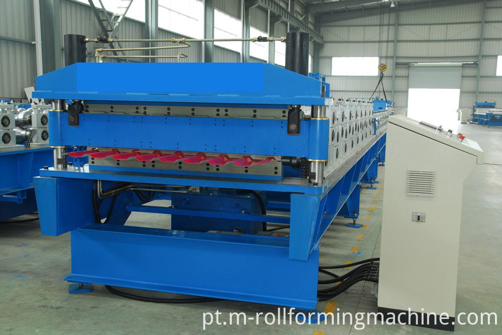 double deck roll forming machine