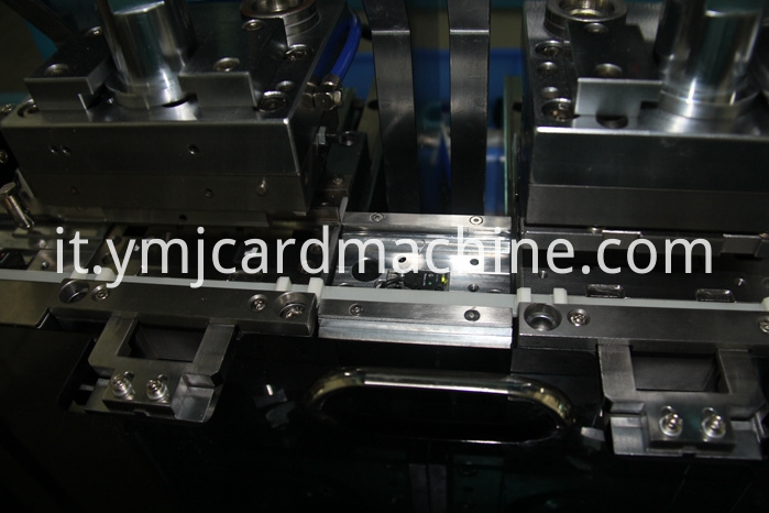 Detail Of Irregular Smart Card Punching Machine