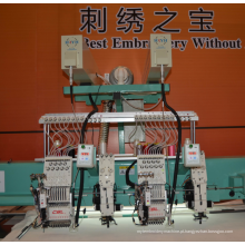 Máquina de bordar laser computadorizada
