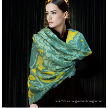 Tela de lana 100% lana personalizada