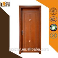 Venda superior de 2015 balanço sólido de madeira folheada mogno porta da madeira contínua