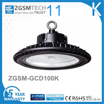 Round UFO Shape Industrial 100W LED High Bay Light