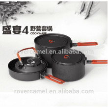 Fire Maple Feast-4 4-5 Person non-stick cookware set camp cookware hiking cookware