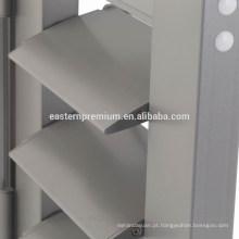 Obturadores de porta baratos da plantação da grelha de alumínio exterior de 89mm