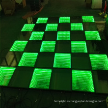 Etapa LED Iluminación Dance Floor 3D Espejo Dance Floor
