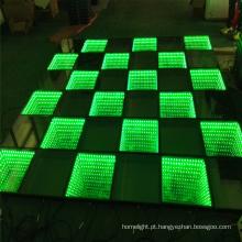 Iluminação de palco LED iluminação portátil Espelho de dança 3D barato Dance Floor