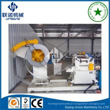 Linha de fabricação de perfil de partição de quilha automática