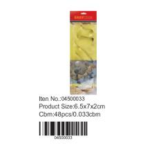 Cortadores metálicos en tarjeta de la ampolla