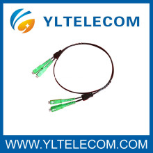 Mode unitaire ou mode multi de cordon de correction optique de fibre FTTH FC SC ST LC MU MU MTRJ