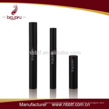 Empty aluminum cosmetic package bottle mascara container