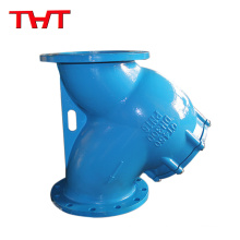 Vertical Basket Strainer Stainless Steel Deep Carbon Steel T Strainer Valve