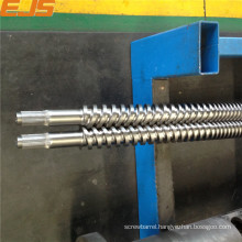 38CrMoAla bimetallic parallel twin screw and barrel