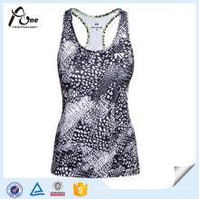 Sportswear OEM Dry Fit Womens imprimé maillots de course