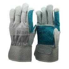 Luvas de mão de couro industrial NMSAFETY
