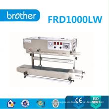 Sellador vertical de banda con impresora Solid Inker