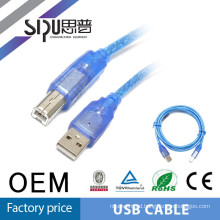 SIPU high quality usb printer cable male to male usb cable mini to male usb cable