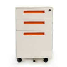 High Quality 3 Drawer File Cabinet on Wheels