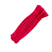 Wholesale children DIY toy 30cm*9mm craft Pipe Cleaner colorful chenille stem For Kids