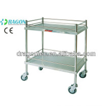 DW-TT201 stainless steel medicine trolley made in china