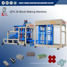 Máquina de fabricação de tijolos industriais sólidos e sólidos de nova tecnologia