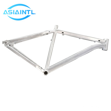 6063/6061 anodizing  aluminum alloy tubes Oval Aluminium Profiles are used to make the bicycle frame