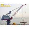 Port verwendet Schiffsdecks Kran Schwenkkran Kran Schiff
