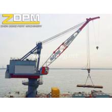 Порт используется палубы морских кранов стрелы крана корабль кран