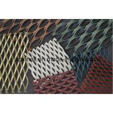 Malla expandida de aluminio / malla perforada de metal para decoración